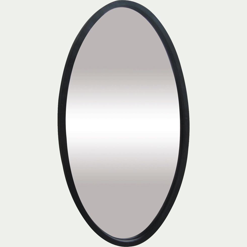 Miroir en métal ovale H40cm-YALA