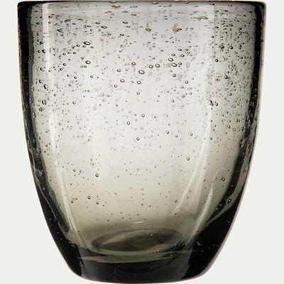 Gobelet en verre gris 35cl-BULLE