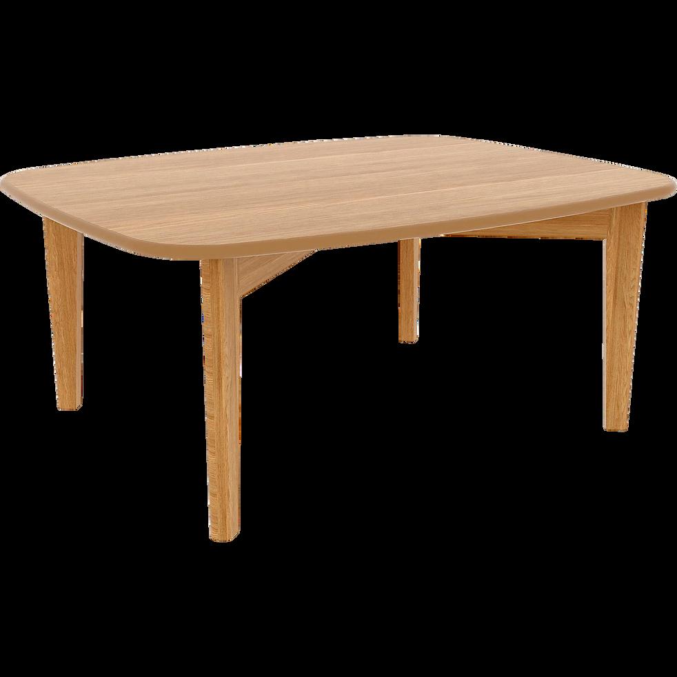 table basse plaquée chêne - siwa - tables basses - alinea