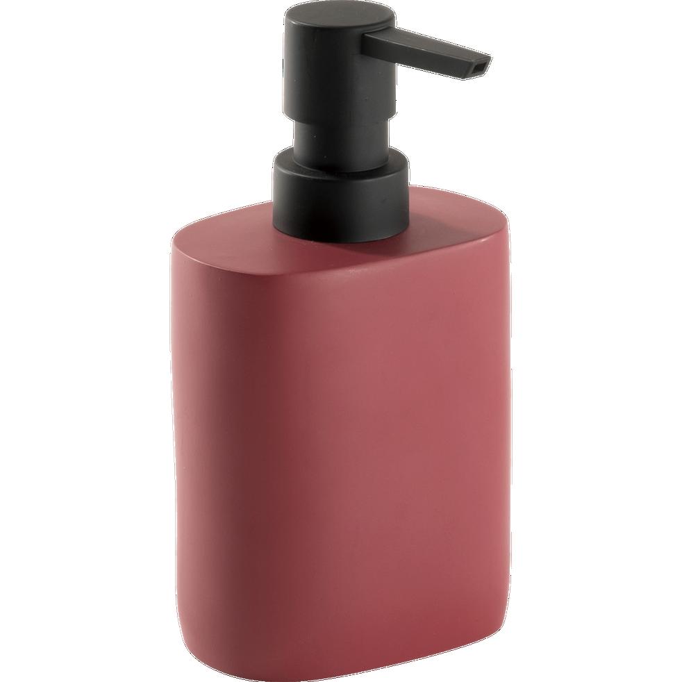 Distributeur de savon rouge-CALLISTO