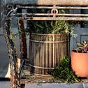 Panier en bambou 22,9x22,9cm-SACHA