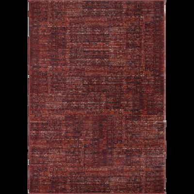 Tapis à motifs rouge sumac - 120x170 cm-ANNOUK