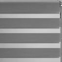 Store enrouleur tamisant gris anthracite122x190cm-JOUR-NUIT