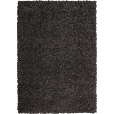 Tapis à poils longs gris - Plusieurs tailles-KRIS