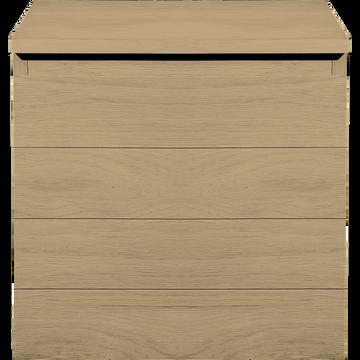 Armoirette de salle de bains en chêne-NATIVE