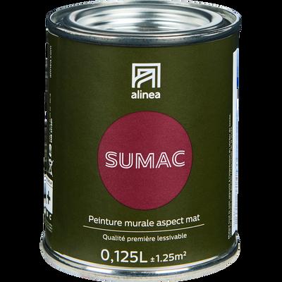 Peinture acrylique mate multi-supports 0.125L rouge sumac-PEINTURE