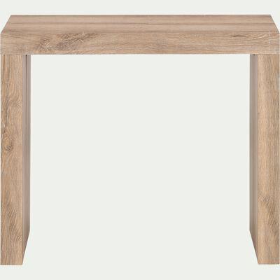 Table console extensible -  naturel (1 à 8 places)-FELICIE