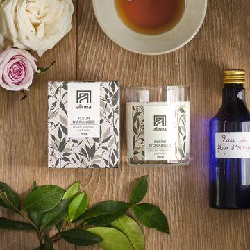 Bougie parfumée senteur Fleur d'Oranger 160g-SIGNATURE