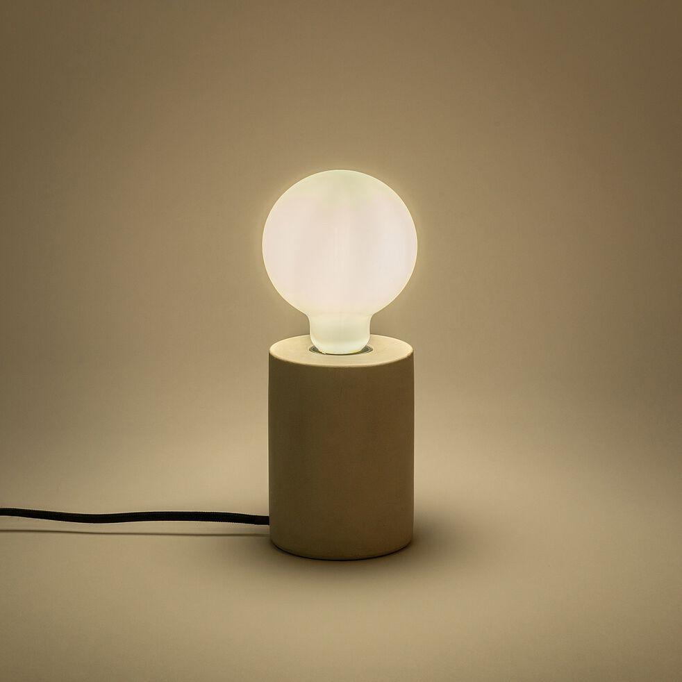 Ampoule LED à filament globe culot E27 - blanc neutre - diamètre 9,5cm-STANDARD