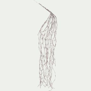 Guirlande cascade lumineuse clignotante 120cm - 440LED blanc chaud-CIRINA