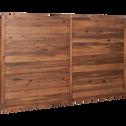 Tête de lit en acacia massif pour lit L140 cm-THAO