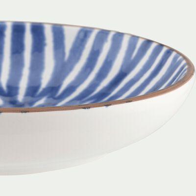 Coupelle en faïence bleu et blanc D14cm-PORTO