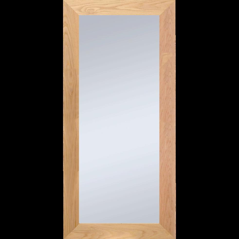 Miroir en chêne 89x169cm - EMBRUN - les indispensables d\'alinea - alinea