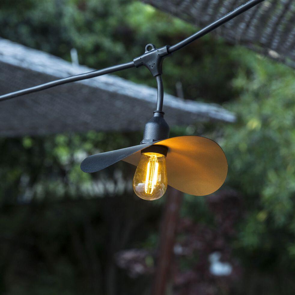 Guirlande électrique d'extérieur - noir 6m-HAT