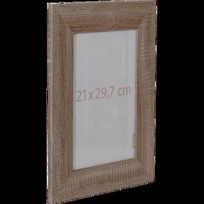 Cadre photo effet chêne 21x29.7cm-CARVALHO