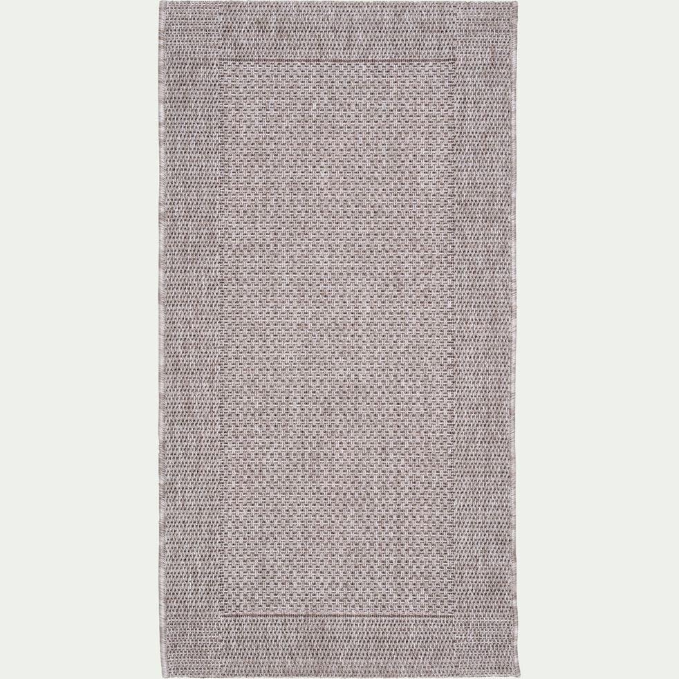 Tapis intérieur et extérieur - gris 60x110cm-KELLY