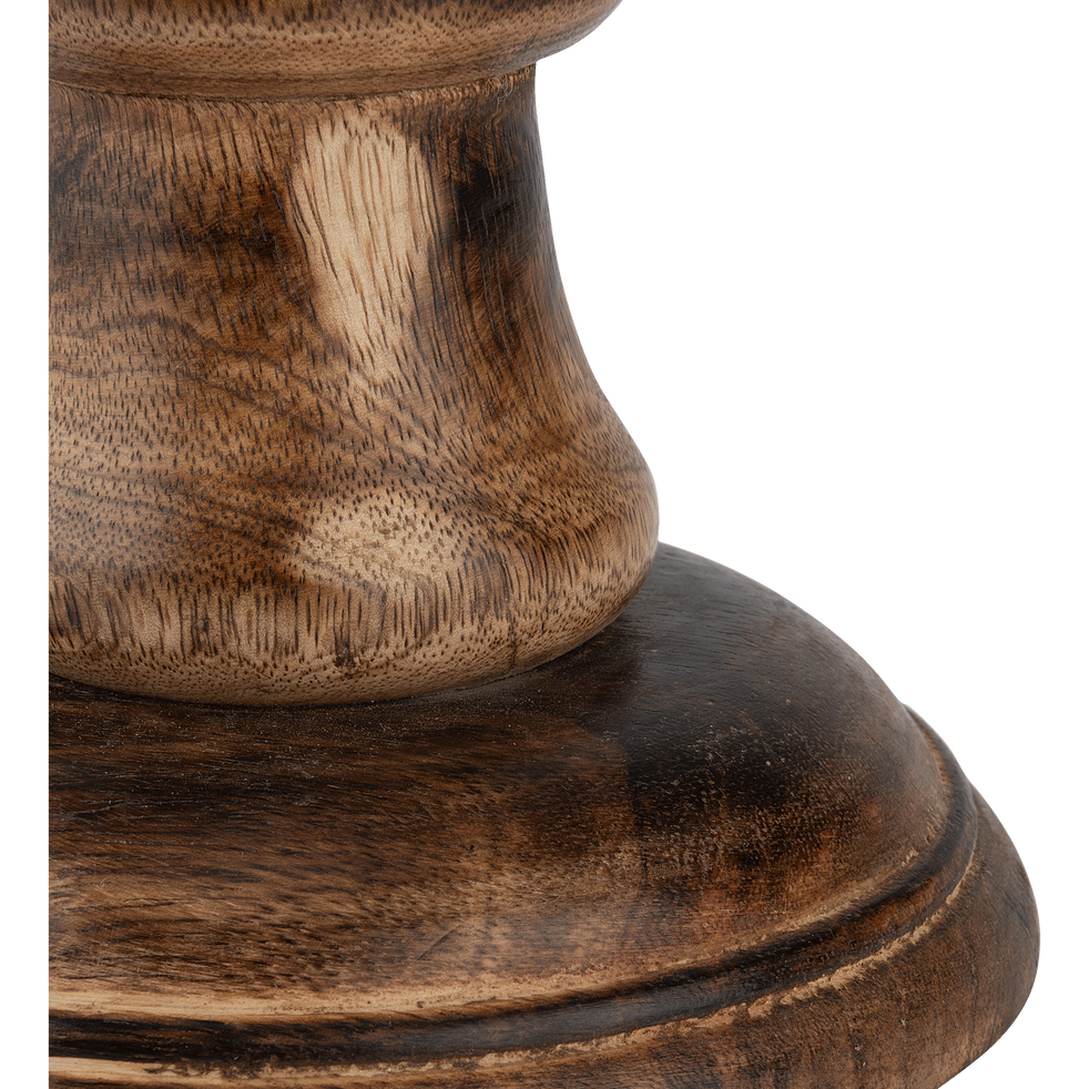 Bougeoir en bois H59cm-CONG