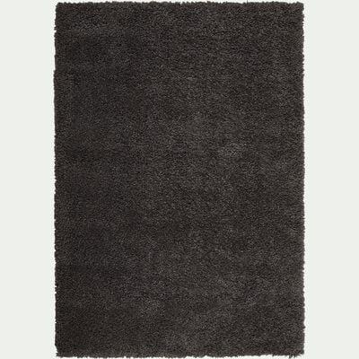 Tapis à poils longs gris 120x170cm-Kris