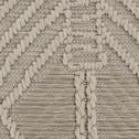Tapis extérieur et intérieur écru 120x170cm-ZOUT