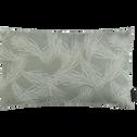 Coussin cale dos d'extérieur déperlant Vert cèdre 30x50 cm-Trayas
