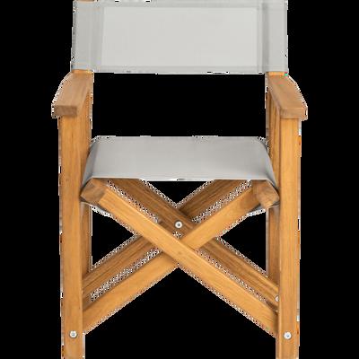 Chaise de casting enfant gris borie-LUZ