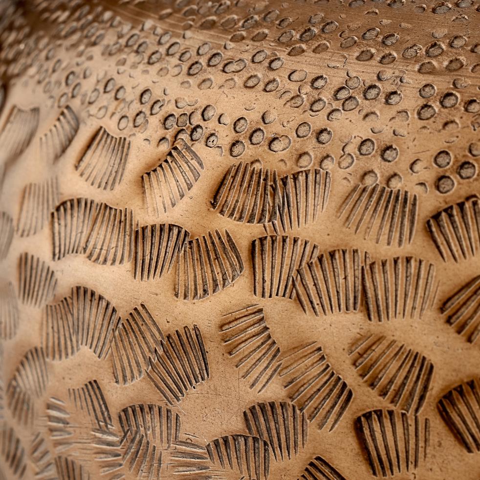 Vase en métal cuivré H19cm-ARTUS