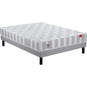Pack matelas ressorts+sommier+pieds Epeda 160X200cm-ATELIER