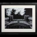 Image encadrée noir et blanc 50x40cm-LANTON