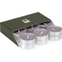 18 bougies chauffe-plats gris restanque-HALBA