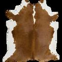 Tapis en peau de vache marron 170x240cm-HOLSTEIN