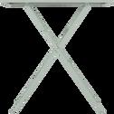 Table de jardin pliante vert olivier L70cm (2 places)-CERVIONE