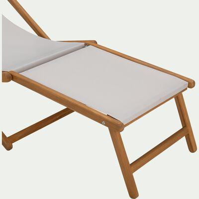 Repose pieds pour chaise udina - gris-UDINA