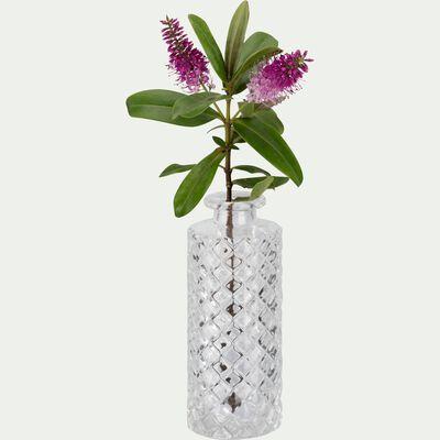 Vase en verre transparent H13cm-Mochlos