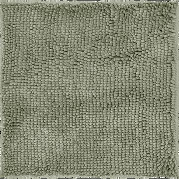 Tapis de bain vert olivier 55x55 cm-EPI
