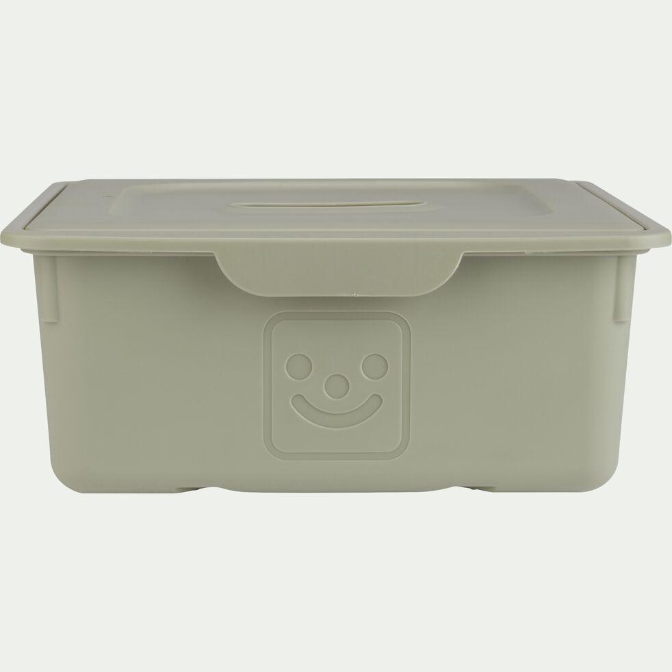 Tiroir de rangement 10L vert olivier-ZACCHARIE