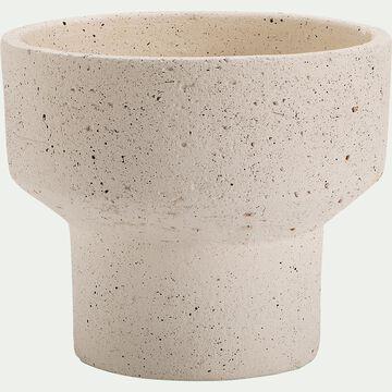 Pot en terre cuite - H29xD23cm beige-PILA
