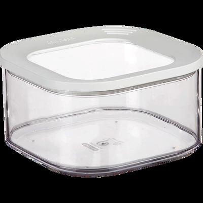 Boîte de rangement carrée en plastique 1.25L-MODULA