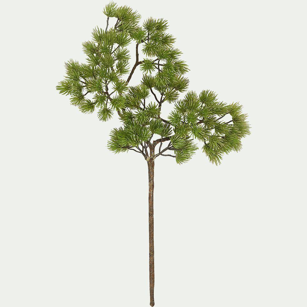 Branche artificielle de pin - vert H43cm-PIN
