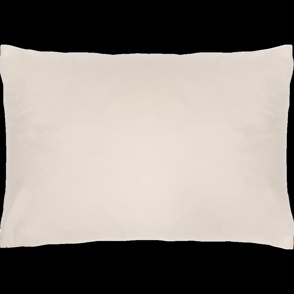 Lot de 2 taies d'oreillers 50x70cm en coton-FINE