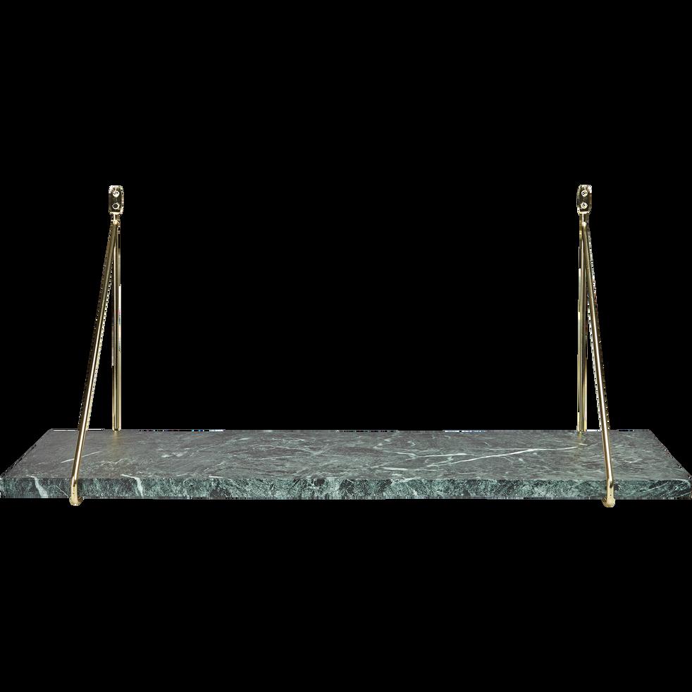 Étagère en marbre vert L60 cm-THALIAS