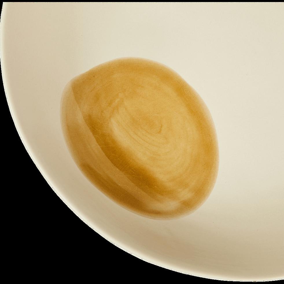 Saladier en porcelaine blanche D25m-PLEIADE