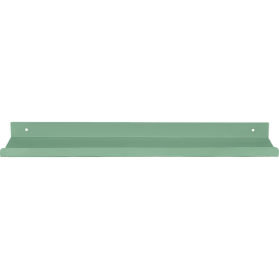 Etagère murale en acier verte L50xl10xH3cm-AGY