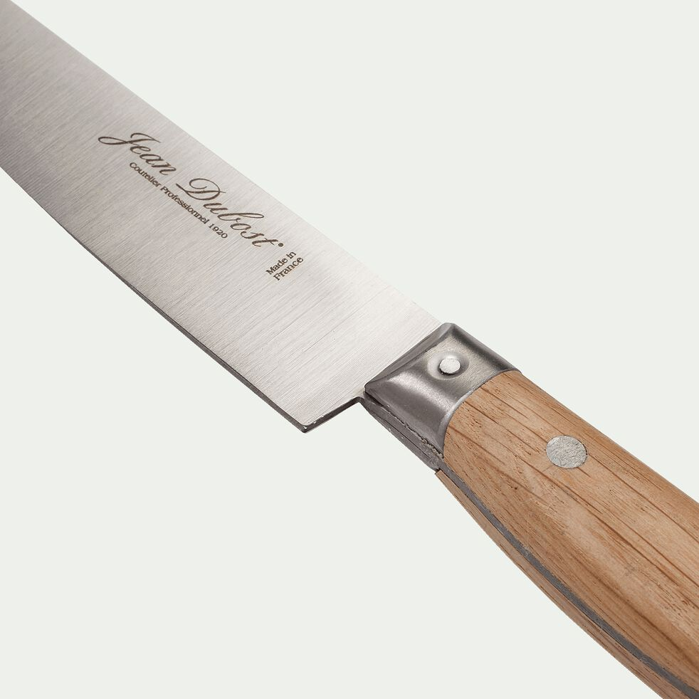Couteau de cuisine en bois de chêne-1920