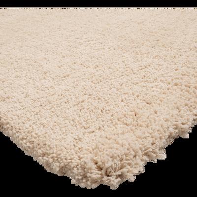 Tapis shaggy beige roucas 120x170cm-CELAN