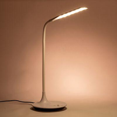 Lampe à poser sensitive avec variateur - blanc H67cm-RAFAEL