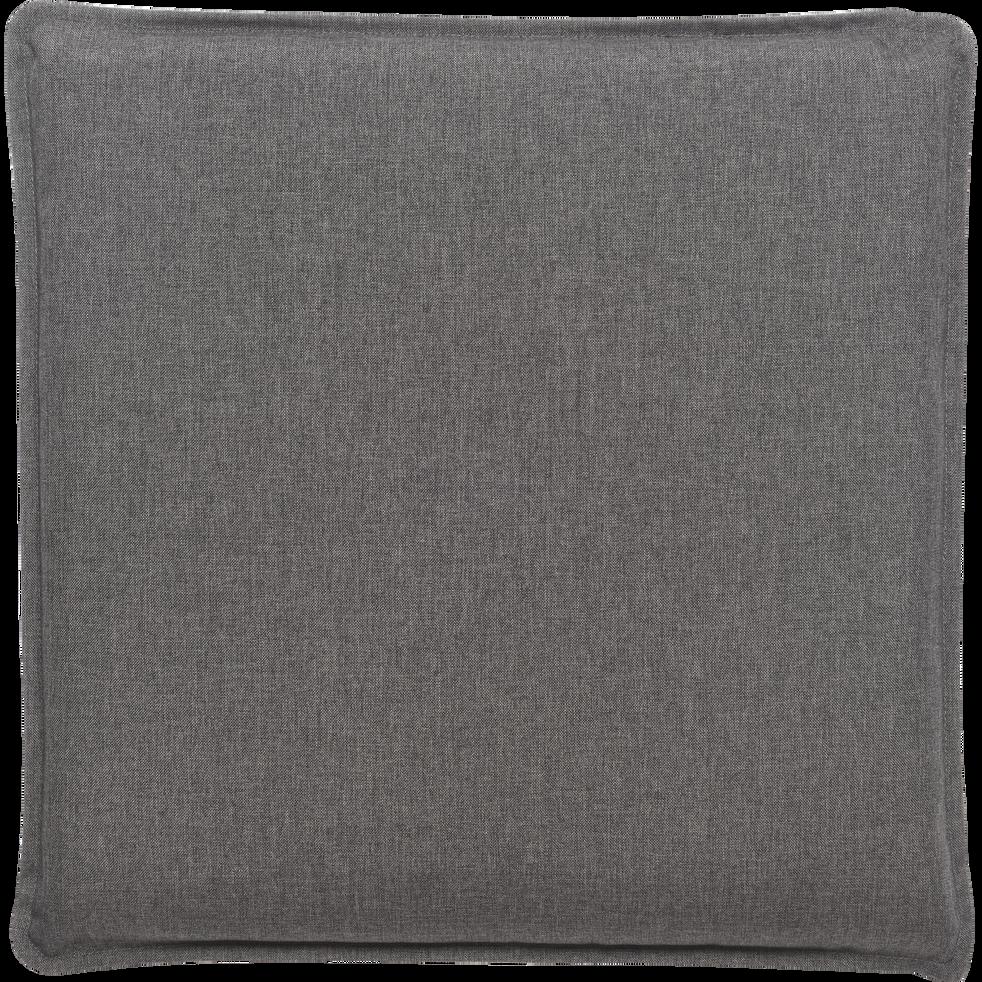 Coussin de sol déperlant gris 50x50cm-OPIO