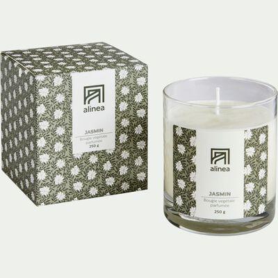 Bougie parfumée senteur Jasmin 250g-JASMIN
