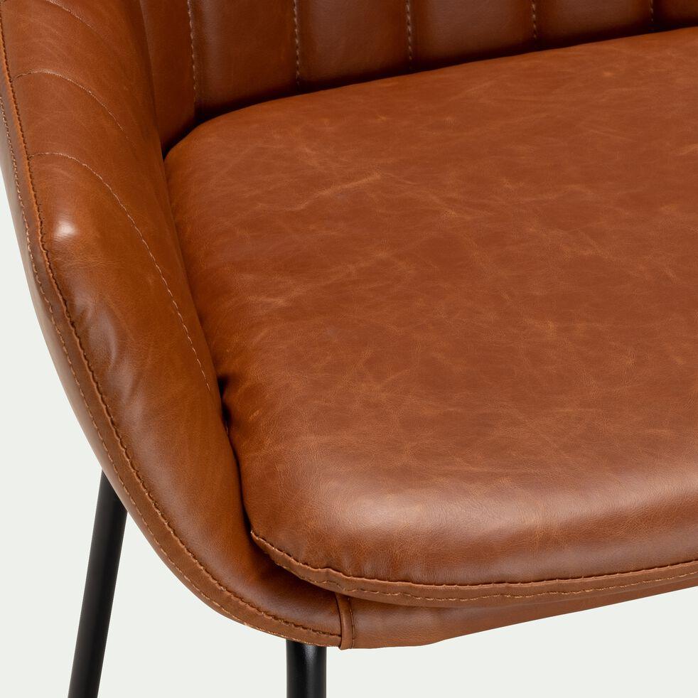 Chaise haute en polyuréthane - marron-OLBIA