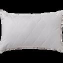Oreiller synthétique piquage matelassé - 45x70 cm-Fermeté