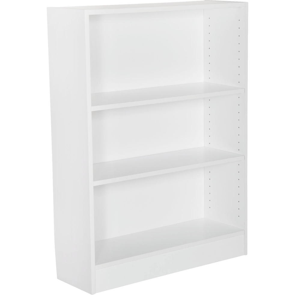 petite biblioth que 3 tablettes coloris blanc l79cm biala rangements composer alinea. Black Bedroom Furniture Sets. Home Design Ideas